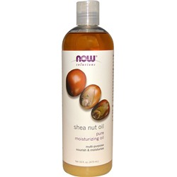 Now Shea Nut Oil 473 мл
