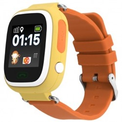 Smart Baby Watch Q80 Yellow
