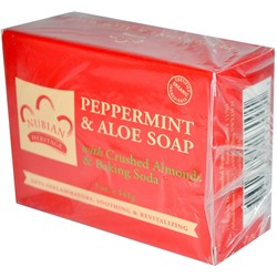 Nubian Heritage Peppermint & Aloe Soap 141 г