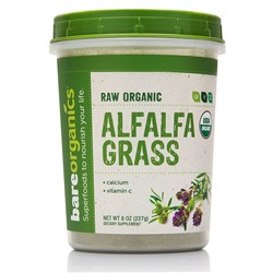 BareOrganics Alfalfa Grass Powder 227 г