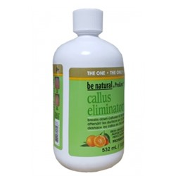 Средство для удаления натоптышей с запахом апельсина BE NATURAL CALLUS ELIMINATOR, 532 мл