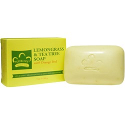 Nubian Heritage Lemongrass & Tea Tree Soap 141 г
