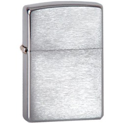 Зажигалка Zippo 200 Brushed Chrome (made in USA)