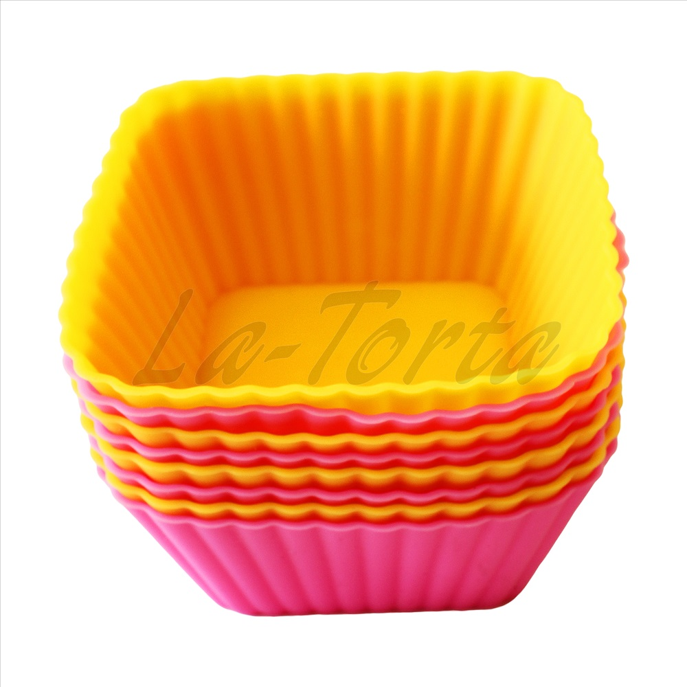 форма для кексов силиконовая