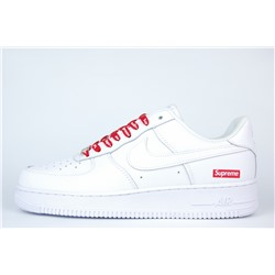 Кроссовки Nike Air Force 1 Low x Supreme White